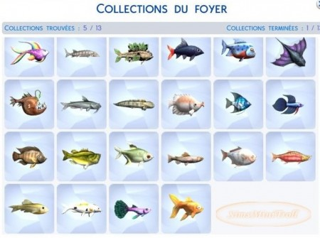 collection poisson